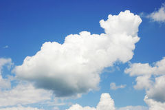 The sky with clouds Stock Images