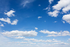 Sky with clouds Royalty Free Stock Photo