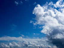 Sky and cloudy Stock Images