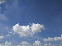 Sky clound skyline. Blue Royalty Free Stock Photography