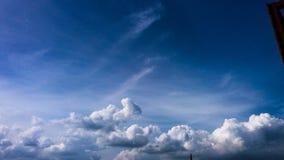 Sky. Clowdy sky b stock photo