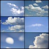 Sky collage Stock Photo