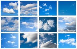 Sky collage Royalty Free Stock Image