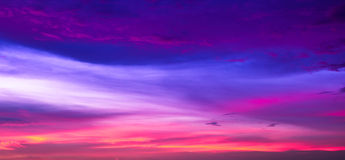 Sky colors time Royalty Free Stock Images