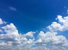Sky and colud. Sky and cloud beautiful for background Stock Photos
