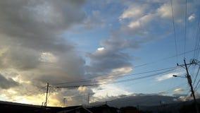 Sky. Costa Rica, San Jos stock photos