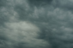 The sky is covered with clouds Royalty Free Stock Photography