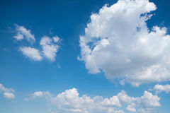 sky covered by clouds Royalty Free Stock Image