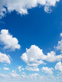 Sky daylight. Natural sky composition. Element of design Royalty Free Stock Photo