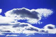 Sky daylight. Natural sky composition. Royalty Free Stock Photography