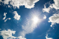 Sky daylight. Natural sky composition. Royalty Free Stock Photos