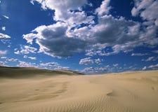 Sky desert Stock Images