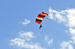 Sky Diver royalty free stock photos