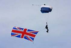 Sky diver Royalty Free Stock Photography