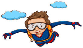 Sky diving Royalty Free Stock Photography