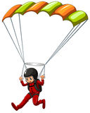 Sky diving Royalty Free Stock Image