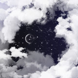 Sky in dream Stock Photography