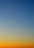 Sky at Dusk Stock Photography