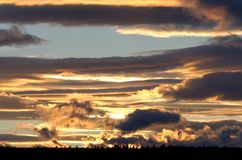 Sky at Dusk Royalty Free Stock Images
