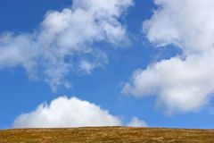 Sky and Earth Stock Photo