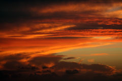 Sky in the evening Royalty Free Stock Images