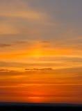sky för 2 afton Arkivfoton