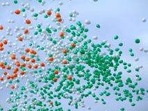 sky för 2 ballonger Royaltyfri Fotografi
