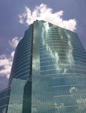 sky för 2 exponeringsglas arkivbild