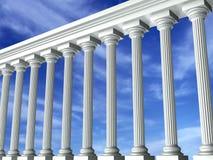 sky för 3 vinkelkolonner Royaltyfri Foto