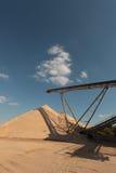 sky för bältetransportör till Royaltyfri Fotografi