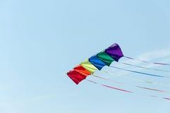 sky för drakar för berkeley festivaldrake Royaltyfria Foton