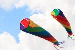 sky för drakar för berkeley festivaldrake arkivbild