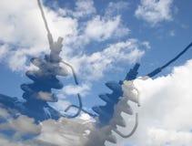 sky för hög ström Royaltyfria Bilder