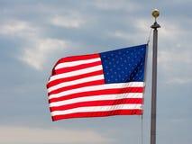 sky för natt för bakgrundsfyrverkeriflagga starry USA Amerikanskt symbol av fjärdedelen av den Juli självständighetsdagen, demokr Arkivbilder