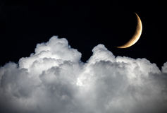 sky för natt för abstraktionillustrationblixt Arkivfoton