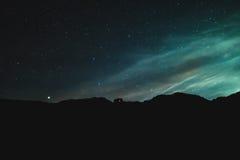 sky för natt för abstraktionillustrationblixt Royaltyfri Foto