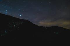 sky för natt för abstraktionillustrationblixt Arkivbild