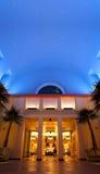 Sky för natt för semesterort för Disney världsdelfin Fotografering för Bildbyråer