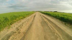 sky för oklarhetsfältväg Vägen av liv lager videofilmer