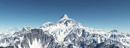 sky för panorama för filterberg orange arkivfoton
