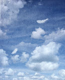 Sky and feather Royalty Free Stock Images