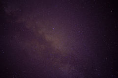 Sky filled with stars, galaxy Royalty Free Stock Photography