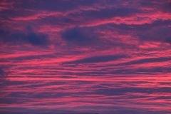 The sky is on fire. royalty free stock images