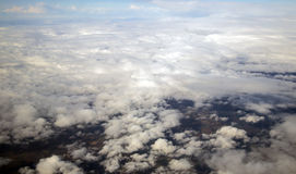 Sky from flight Royalty Free Stock Photography