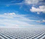 Sky and floor Stock Image