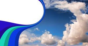 Sky flyer stock image