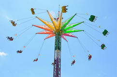 Sky Flyer Ride at the OC Fair Royalty Free Stock Image