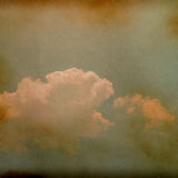 Sky, fog, and clouds on a textured, Royalty Free Stock Images