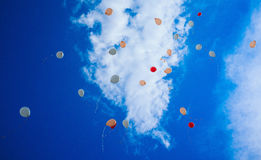Sky full of Baloons #3 Royalty Free Stock Image