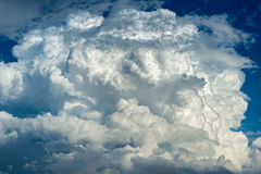 Sky full of clouds Royalty Free Stock Photography